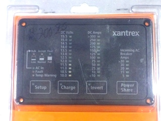 New Xantrex Remote Control Panel