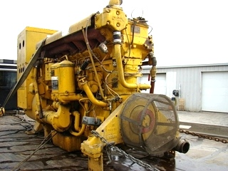 CATERPILLAR STAND BY DIESEL GENERATOR 230 KW FOR SALE