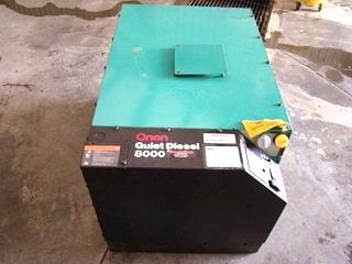 ONAN 8000 QUITE DIESEL GENERATOR RV MOTORHOME - CALL 606-843-9889
