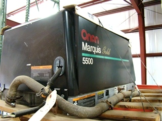 USED ONAN GAS GENERATOR 5500 MARQUIS GOLD