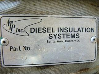 USED ONAN 7.5 KW RV GENSET DIESEL GENERATOR FOR SALE
