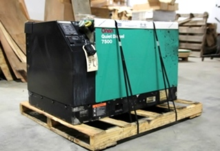 ONAN CUMMINS DIESEL GENERATOR FOR SALE 7500 QUIET