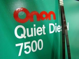 USED RV GENERATOR - ONAN 7.5 ( 7500 QUIET DIESEL ) FOR SALE BY VISONE RV 606-843-9889