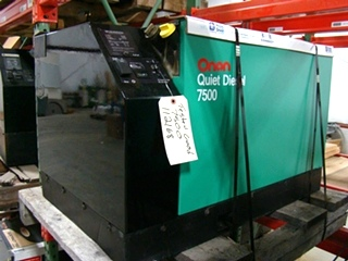 USED RV GENERATOR - ONAN 7.5 ( 7500 QUIET DIESEL ) FOR SALE BY VISONE RV 606-843-9889