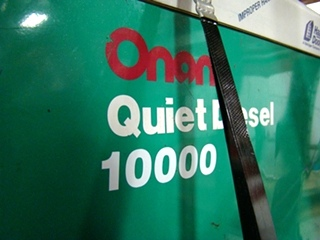 ONAN 10000 DIESEL GENERATOR QUIET FOR SALE RV / MOTORHOME GENERATORS - VISONE RV