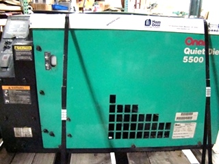 USED ONAN QUIET DIESEL 5500 GENERATOR FOR SALE 5.5 KW