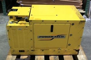 USED POWER TECH ULTIMATE 8KW GENERATOR FOR SALE