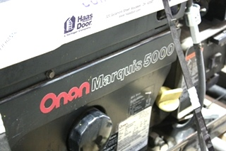 ONAN GAS MARQUIS 5000 GENERATOR FOR SALE