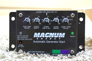 USED RV PARTS MAGNUM ENERGY AUTOMATIC GENERATOR START FOR SALE
