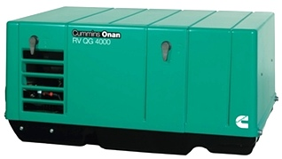 CUMMINS ONAN QG 4.0 GASOLINE RV GENERATOR FOR SALE
