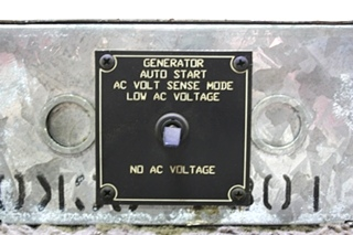 USED GENERATOR AUTO START GENCON MODEL: 9232 MOTORHOME PARTS FOR SALE