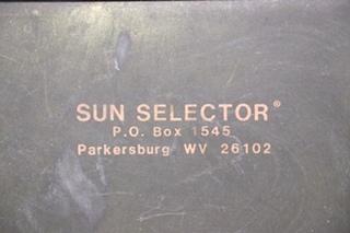 USED MOTORHOME SUN SELECTOR GENMATE GENERATOR START #9030 FOR SALE