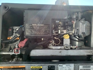 USED ONAN MARQUIS GOLD 5500 GENERATOR MODEL: 5.5HGJAB-1038D RV GENERATORS FOR SALE