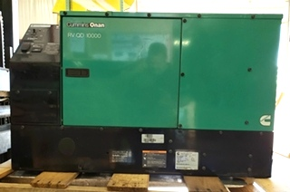 10HDKCA-11608F USED CUMMINS ONAN RV QD 10000 GENERATOR RV DIESEL GENERATORS FOR SALE