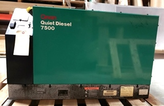 USED MOTORHOME ONAN 7500 QUIET DIESEL GENERATOR RV PARTS FOR SALE