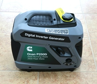 ONAN P2500i 2500 WATT DIGITAL INVERTER GASOLINE PORTABLE GENEARTOR FOR SALE