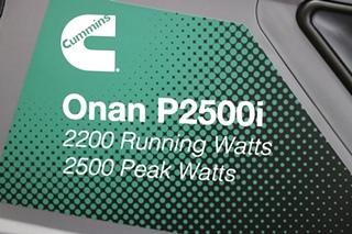 ONAN P2500i 2500 WATT DIGITAL INVERTER GASOLINE PORTABLE GENEARTOR FOR SALE
