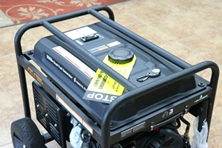 CUMMINS ONAN P9500df DUAL FUEL (GAS/LPG) PORTABLE GENERATOR FOR SALE