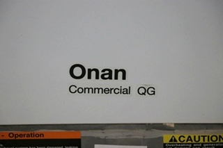 CUMMINS ONAN QG 7000 COMMERCIAL MOBILE GASOLINE GENERATOR FOR SALE